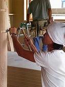 建築を進める大工はすべて当社の社員