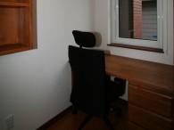 書斎の造作机