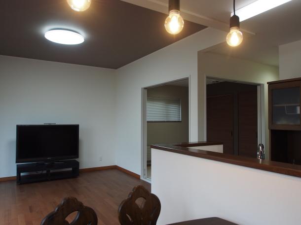 LDKと和室が一体化したのびやかな空間を造る家