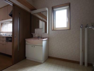 before:洗面脱衣室